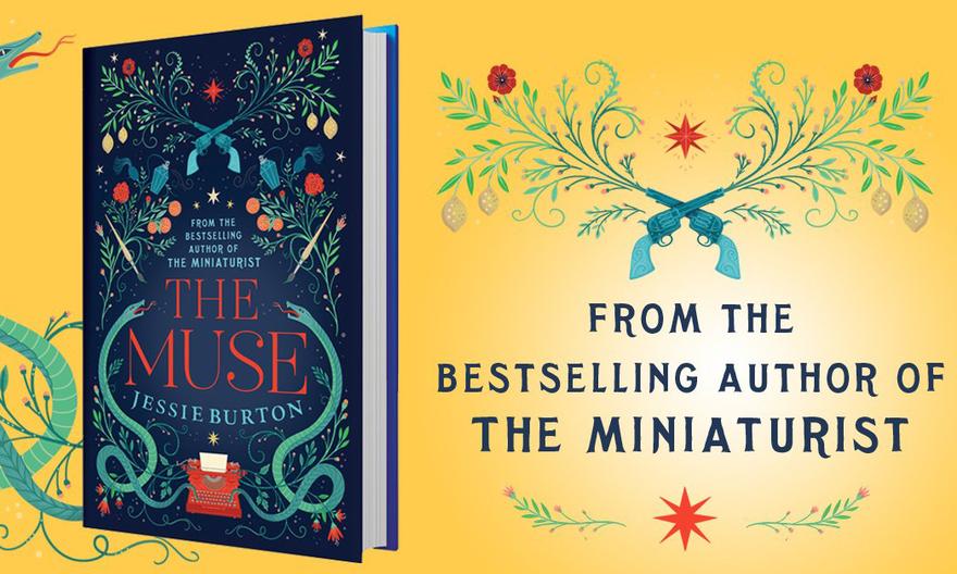 Новая книга Джесси Бёртон «Муза»