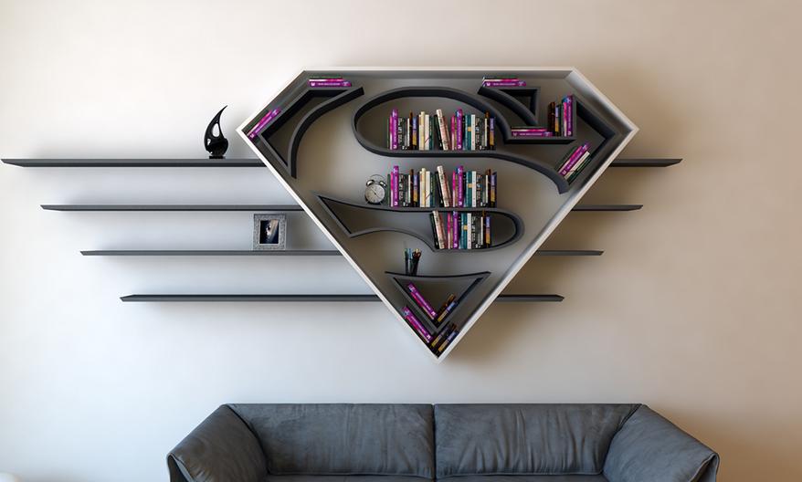 Книжные полки Супергероев
